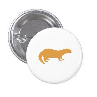 Brown Mongoose 3 Cm Round Badge
