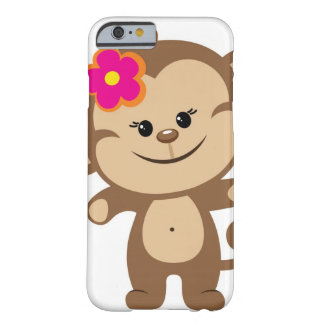 Brown monkey iPhone 6 case Phone Case Barely There iPhone 6 Case