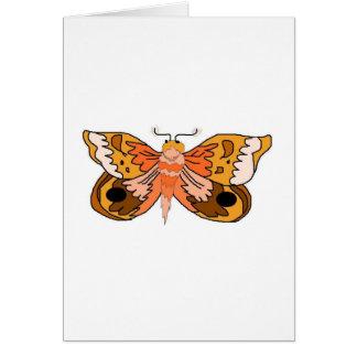 Brown Moth Card