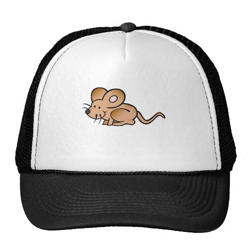 Brown Mouse Hat