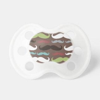 Brown Mustache Pattern Dummy