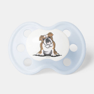 Brown n White English Bulldog Sit Pretty Dummy