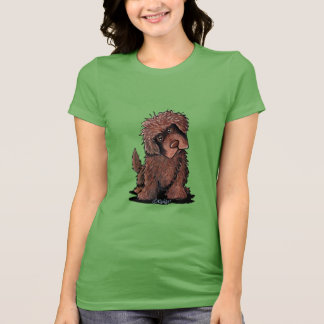 Brown Newfoundland Dog T-Shirt