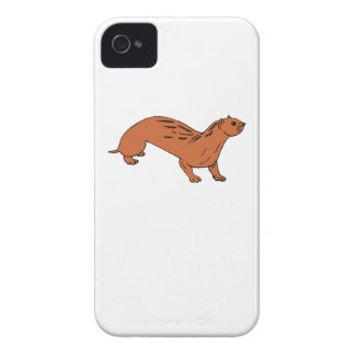 Brown Otter Case-Mate iPhone 4 Cases