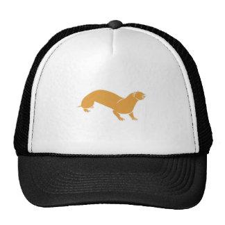 Brown Otter Trucker Hats