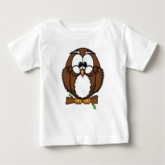 Brown Owl Baby Jersey T-Shirt