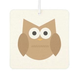 Brown Owl Car Air Freshener