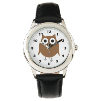 Brown Owl Wristwatches