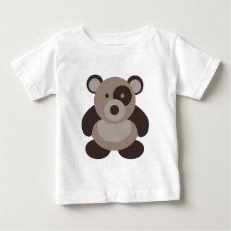 Brown Panda Bear Baby T-Shirt