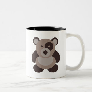 Brown Panda Bear Mug