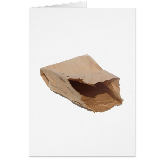 Brown Paper Bag Card