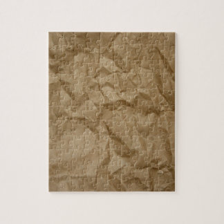 BROWN PAPER JIGSAW PUZZLE