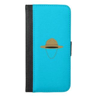 Brown park ranger hat Q1Q iPhone 6/6s Plus Wallet Case