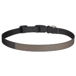 Brown pattern dog collar - Contempo Swirl