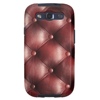 brown pattern leather skin samsung galaxy s3 cases