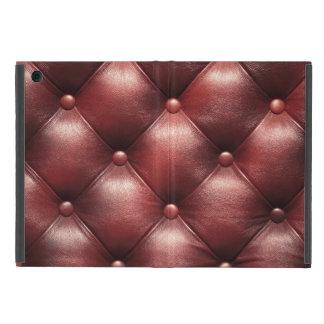 brown pattern leather skin iPad mini cover