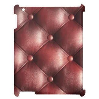 brown pattern leather skin iPad cover