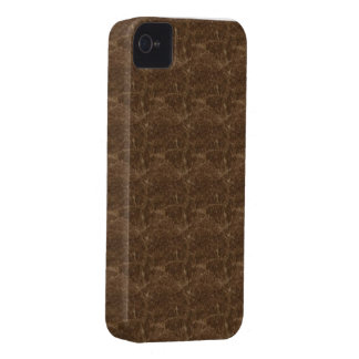 Brown pattern theme iPhone 4 cover