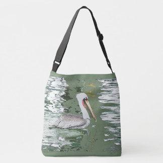 Brown Pelican Bird Wildlife Animal Ocean Tote Bag