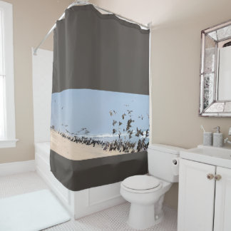 Brown Pelican Birds Animal Wildlife Snower Curtain Shower Curtain