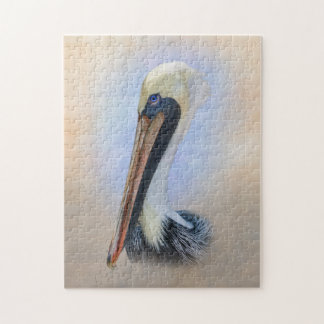 Brown Pelican Jigsaw Puzzle