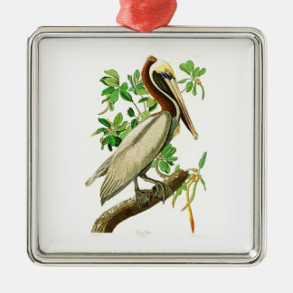 Brown Pelican John James Audubon Birds of America Christmas Ornament