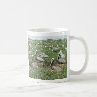 Brown Pelican Nesting Spot Coffee Mug
