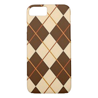 Brown Plaid iPhone 8/7 Case