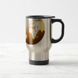 """Brown Planet"" Travel Mug"
