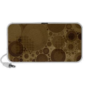 Brown Polkadot Travelling Speaker