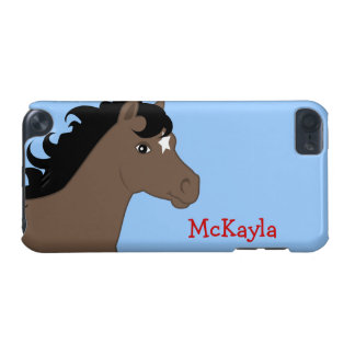 Brown Pony Personalized iPod Case