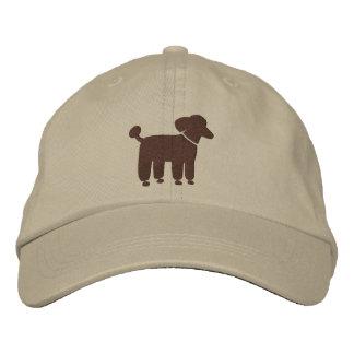 Brown Poodle Graphic Baseball Cap