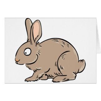 Brown Rabbit Note Cards