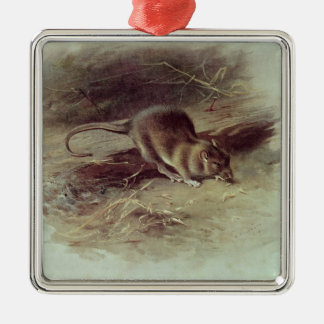 Brown Rat  1918 Christmas Ornament