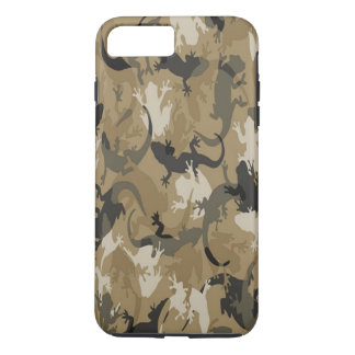 Brown Reptile Camouflage iPhone 7 Case