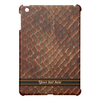 Brown Reptile iPad Mini Cover