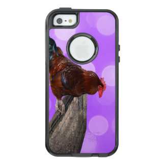 Brown Rooster Nosy Parker, OtterBox iPhone 5/5s/SE Case