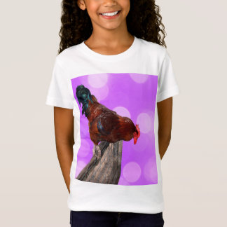 Brown Rooster Nosy Parker, T-Shirt