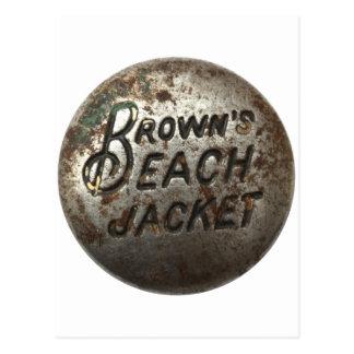 Brown s Beach Jacket Post Card