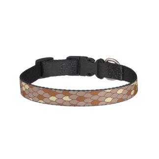 Brown Scale Dog Collar