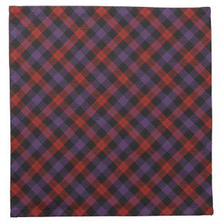 Brown Scottish Clan Tartan Napkins