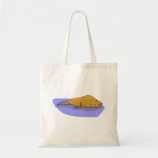 Brown Seal Tote Bags