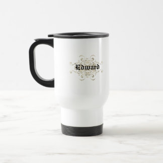 Brown Shield / Coat of Arms Stainless Steel Travel Mug