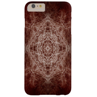 Brown silhouetted tree pattern barely there iPhone 6 plus case