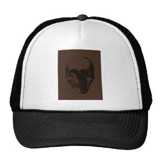 Brown Skull Cap