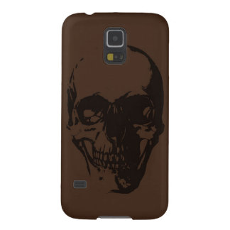 Brown Skull Galaxy S5 Cover