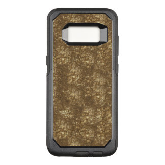 Brown Snake Skin Pattern OtterBox Commuter Samsung Galaxy S8 Case