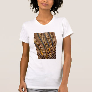 Brown spotted pheasant feather T-Shirt