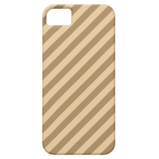 Brown Stripes. Barely There iPhone 5 Case