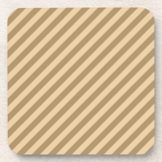 Brown Stripes. Coaster